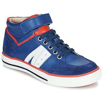 Chaussures Garçon Baskets montantes GBB ALIMO Bleu