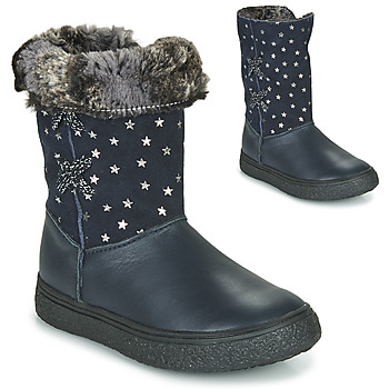 Chaussures Fille Bottes ville GBB OLINETTE Marine
