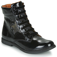 Chaussures Fille Boots GBB JAMILA Noir