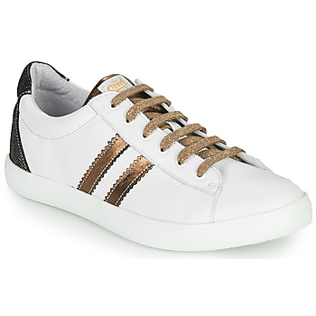 Chaussures Fille Baskets basses GBB MAPLUE Blanc
