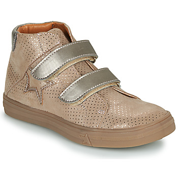 Chaussures Fille Baskets montantes GBB MAYMA Beige