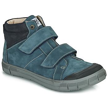 Chaussures Garçon Baskets montantes GBB HENI Bleu