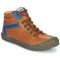Chaussures Garçon Baskets montantes GBB IWEN Marron