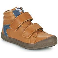 Chaussures Garçon Baskets montantes GBB KOLAN Marron