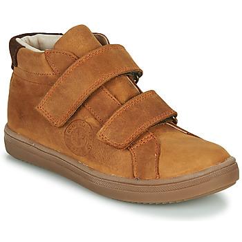 Chaussures Garçon Baskets montantes GBB NAZAIRE Marron