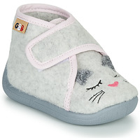 Chaussures Fille Chaussons GBB HELORIE Gris