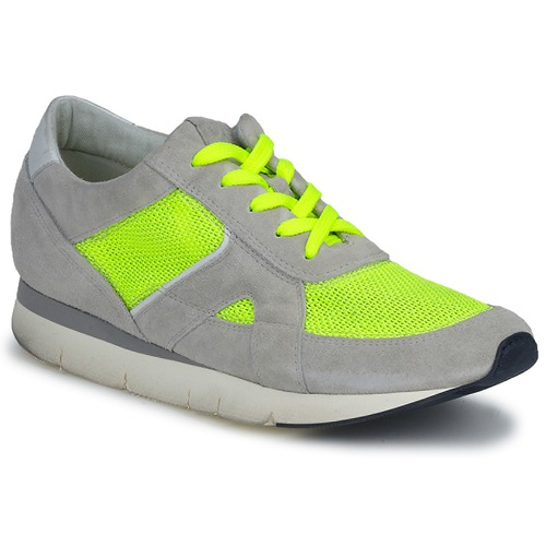 Chaussures Femme Baskets basses OXS GEORDIE Gris / Jaune