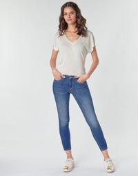 Vêtements Femme Pantalons cargo Only ONLKENDELL Bleu medium