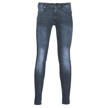 Vêtements Homme Jeans slim Jack & Jones JJILIAM Bleu foncé