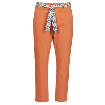 Vêtements Femme Chinos / Carrots Vero Moda VMSVEA Brique