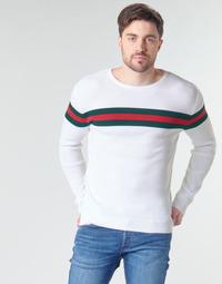 Vêtements Homme Pulls Casual Attitude MIRANDA Blanc