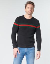 Vêtements Homme Pulls Casual Attitude BAOLI Noir