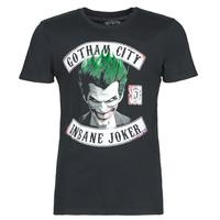 Vêtements Homme T-shirts manches courtes Yurban INSANE JOKER Noir