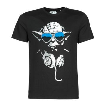 Vêtements Homme T-shirts manches courtes Yurban DJ YODA COOL Noir