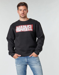Vêtements Homme Sweats Casual Attitude MARVEL MAGAZINE CREW Noir