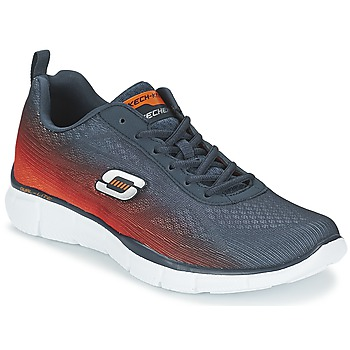 Chaussures Homme Multisport Skechers EQUALIZER Marine / Orange