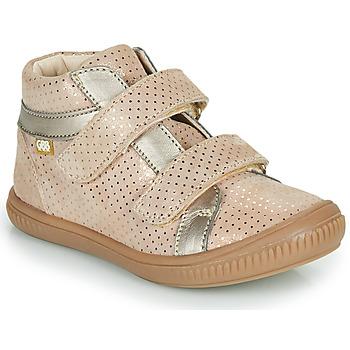 Chaussures Fille Baskets montantes GBB EDEA Beige