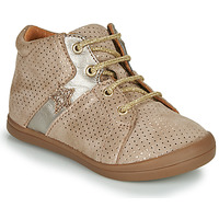 Chaussures Fille Baskets montantes GBB DUANA Beige