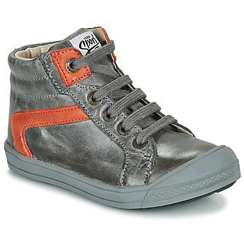 Chaussures Garçon Baskets montantes GBB IWEN Gris
