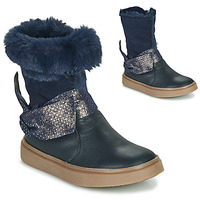 Chaussures Fille Bottes ville GBB EVELINA Bleu