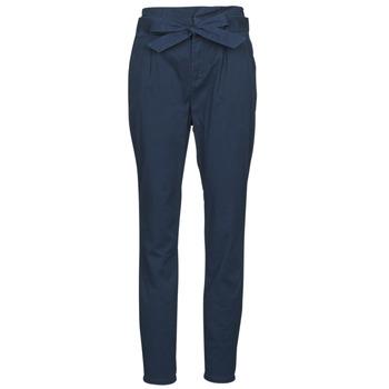 Vêtements Femme Pantalons 5 poches Vero Moda VMEVA Marine