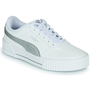 Chaussures Femme Baskets basses Puma CARINA Blanc / Argent