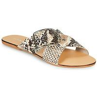 Chaussures Femme Mules Jonak JASMINE Marron / Python