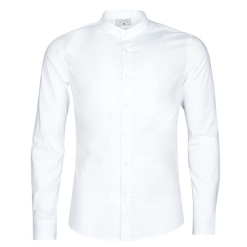 Vêtements Homme Chemises manches longues Yurban MASS Blanc