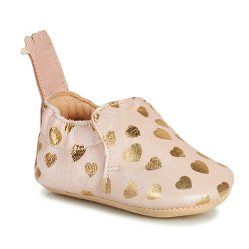 Chaussures Enfant Chaussons Easy Peasy BLUMOO Rose