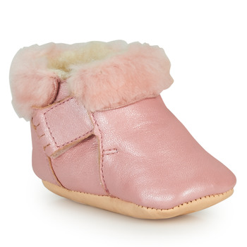 Chaussures Fille Chaussons Easy Peasy FOUMOU Rose