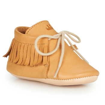 Chaussures Enfant Chaussons Easy Peasy MEXIMOO Cognac