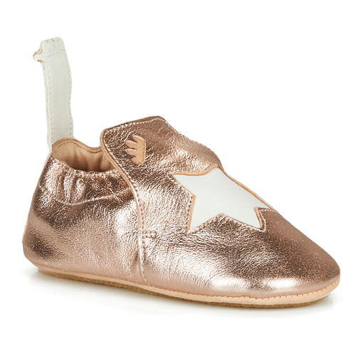 Chaussures Enfant Chaussons Easy Peasy BLUBLU ETOILE Rose Gold