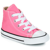 hot sale online 7d16e acf72 Chaussures Fille Baskets montantes Converse CHUCK TAYLOR ALL STAR CORE HI  Rose