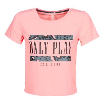 Vêtements Femme T-shirts manches courtes Only Play  Rose
