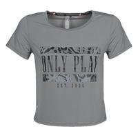 Vêtements Femme T-shirts manches courtes Only Play  Gris