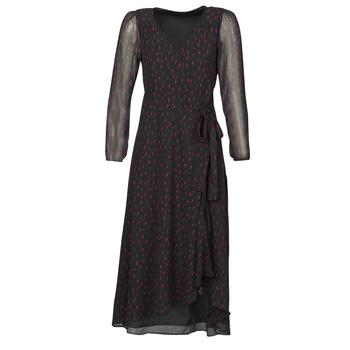 Vêtements Femme Robes longues Ikks BR30225 Noir