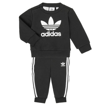 Vêtements Enfant Ensembles enfant adidas Originals CREW SET Noir