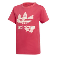Vêtements Fille T-shirts manches courtes adidas Originals TEE Rose