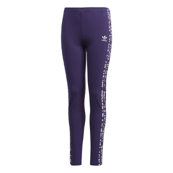 Vêtements Fille Leggings adidas Originals SOLID LEGGINGS Violet