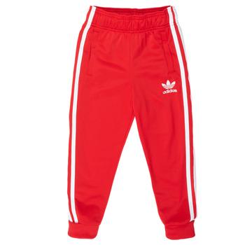 Vêtements Enfant Pantalons de survêtement adidas Originals SST TRACKPANT Rouge