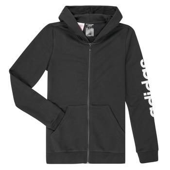 Vêtements Fille Sweats adidas Performance GOULA Noir