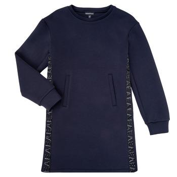 Vêtements Fille Robes courtes Emporio Armani 6H3A07-1JDSZ-0920 Marine