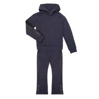 Vêtements Fille Ensembles de survêtement Emporio Armani 6H3V01-1JDSZ-0920 Marine