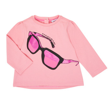 Vêtements Fille T-shirts manches longues Emporio Armani 6HET02-3J2IZ-0315 Rose