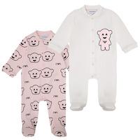 Vêtements Fille Pyjamas / Chemises de nuit Emporio Armani 6HHV06-4J3IZ-F308 Rose