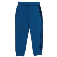 Vêtements Garçon Pantalons de survêtement Emporio Armani 6H4P84-1JDSZ-0975 Marine