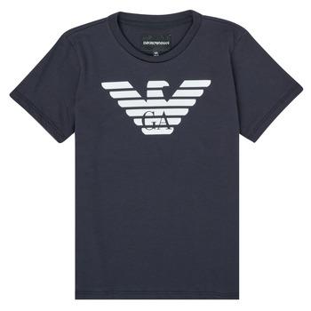 Vêtements Garçon T-shirts manches courtes Emporio Armani 8N4T99-1JNQZ-0939 Marine