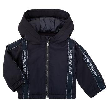 Vêtements Garçon Blousons Emporio Armani 6HHBL0-1NYFZ-0920 Marine