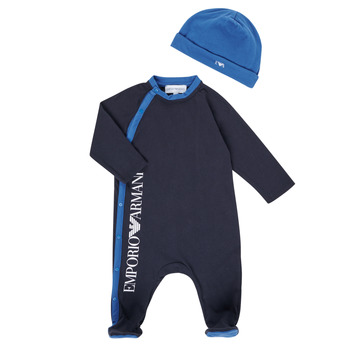 Vêtements Garçon Pyjamas / Chemises de nuit Emporio Armani 6HHV12-4J3CZ-0922 Marine