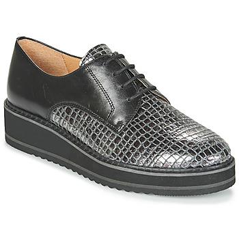 Chaussures Femme Derbies Karston ORPLOU Noir / Gris